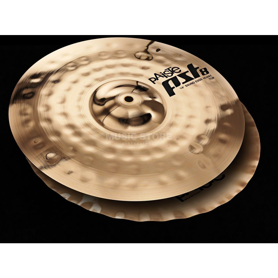 "Paiste PST8 Sound Edge HiHat 14"", Reflector Finish Produktbild"