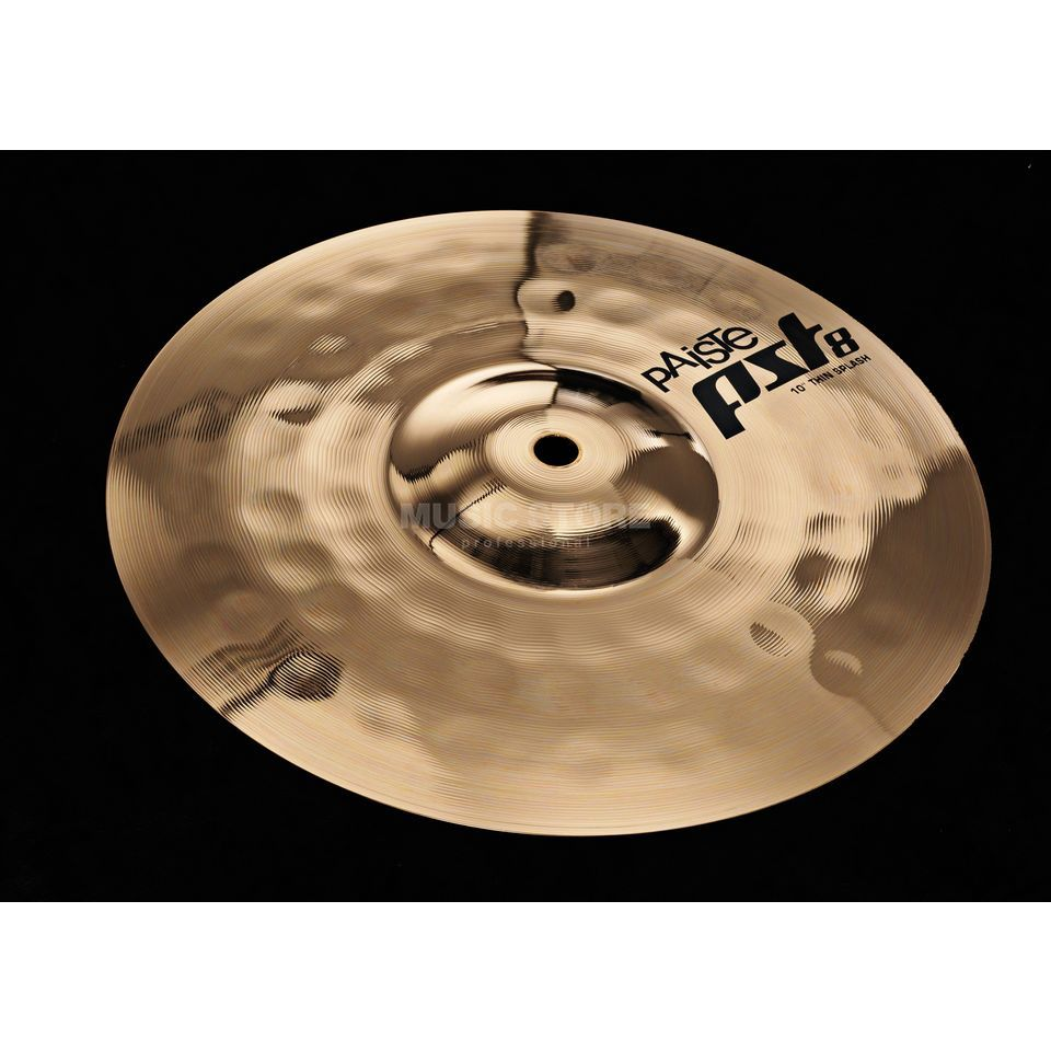 "Paiste PST8 Thin Splash 10"", Reflector Finish Product Image"