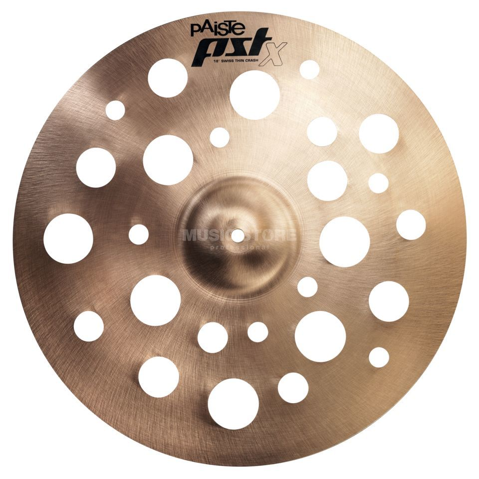 "Paiste PSTX Swiss Thin Crash 18""  Produktbild"