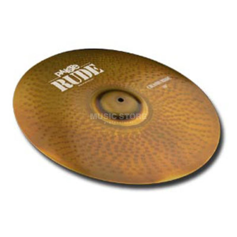 "Paiste Rude Crash Ride 17""  Produktbillede"