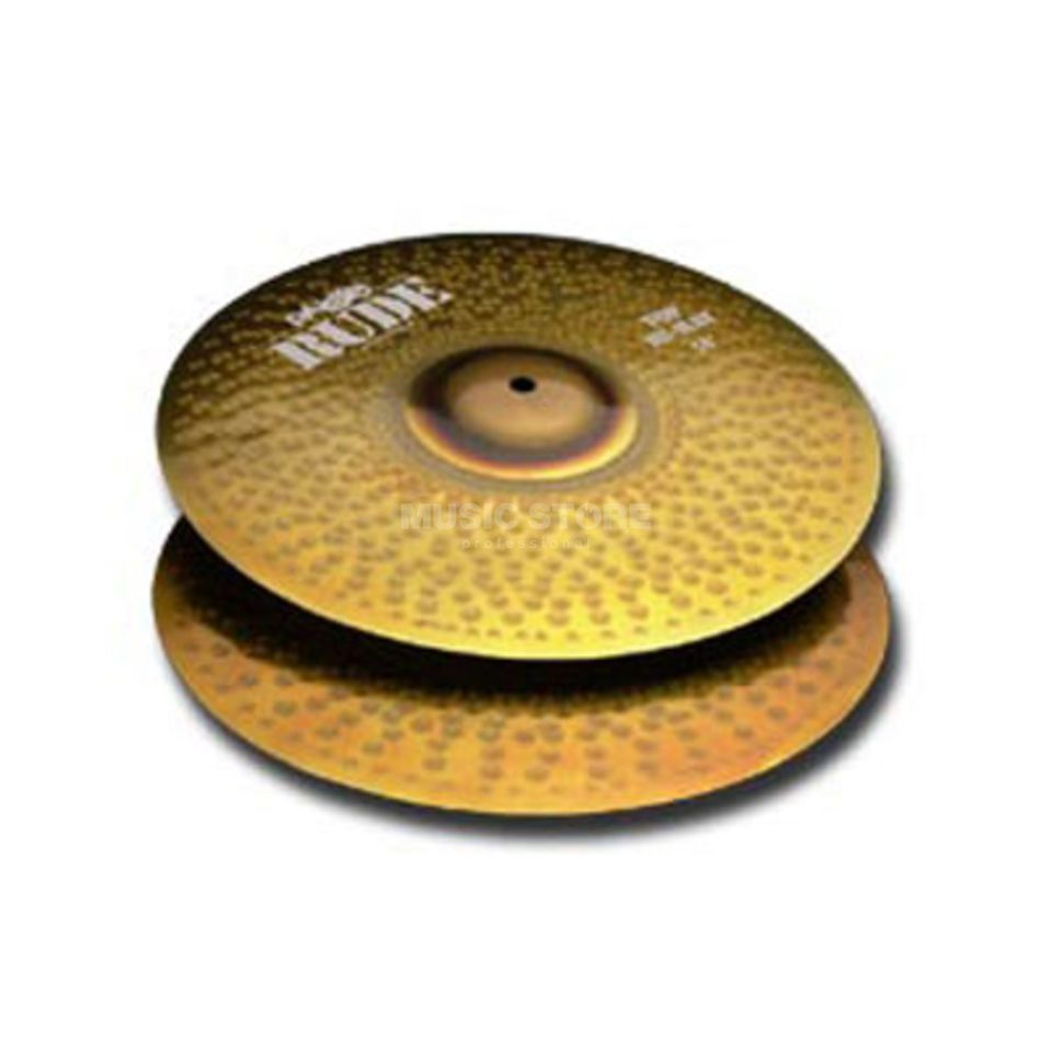 "Paiste Rude HiHat 14""  Product Image"