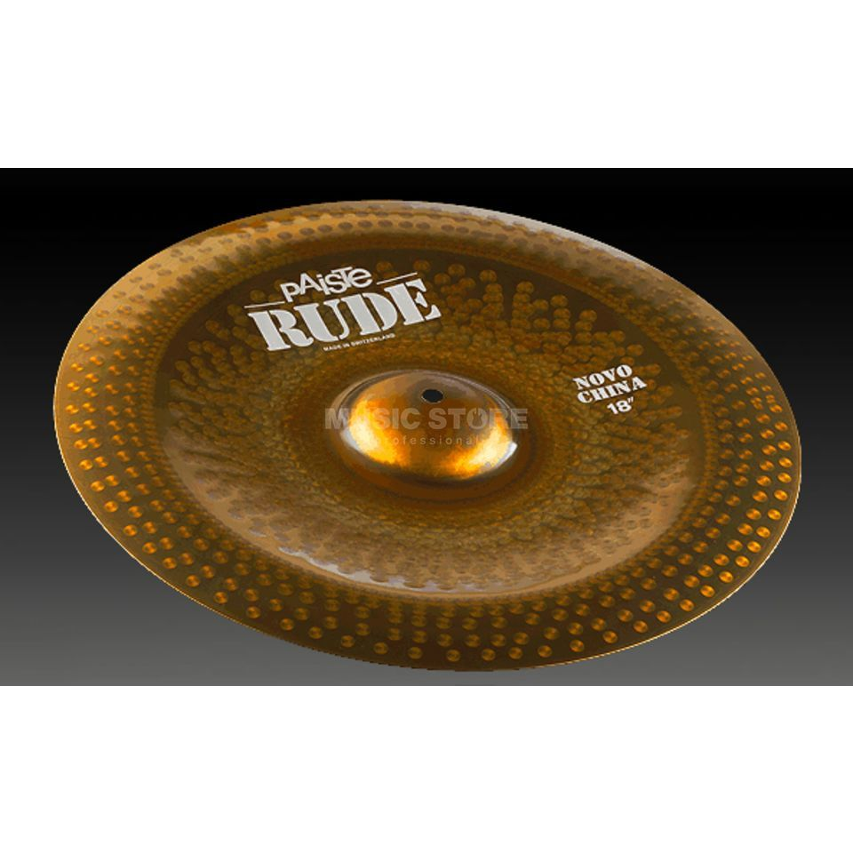 "Paiste Rude Novo China 18""  Produktbild"