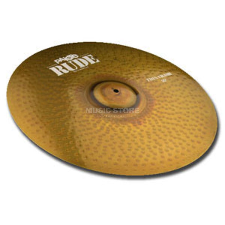 "Paiste Rude Thin Crash 18""  Product Image"