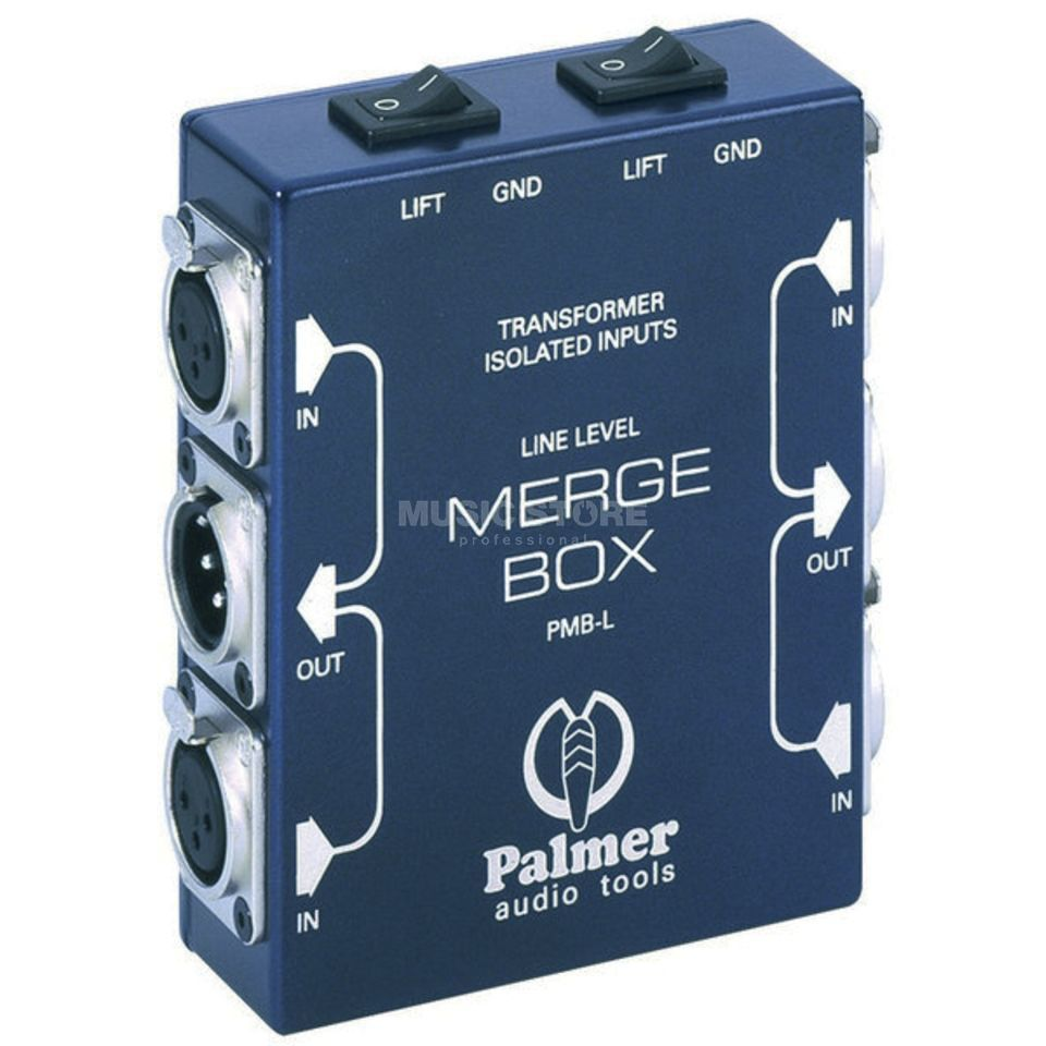 Palmer PMB-L Line Level Mergebox Produktbild