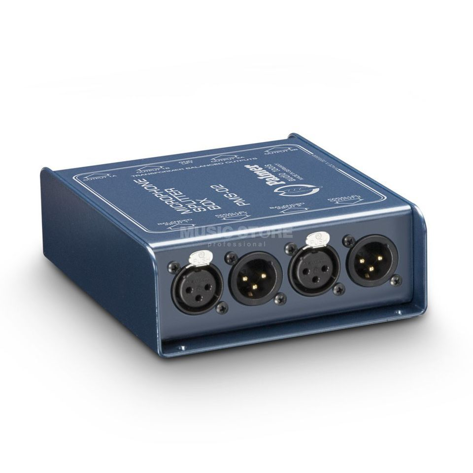 Palmer PMS 02 Microphone Split Box 2-Channel Produktbillede