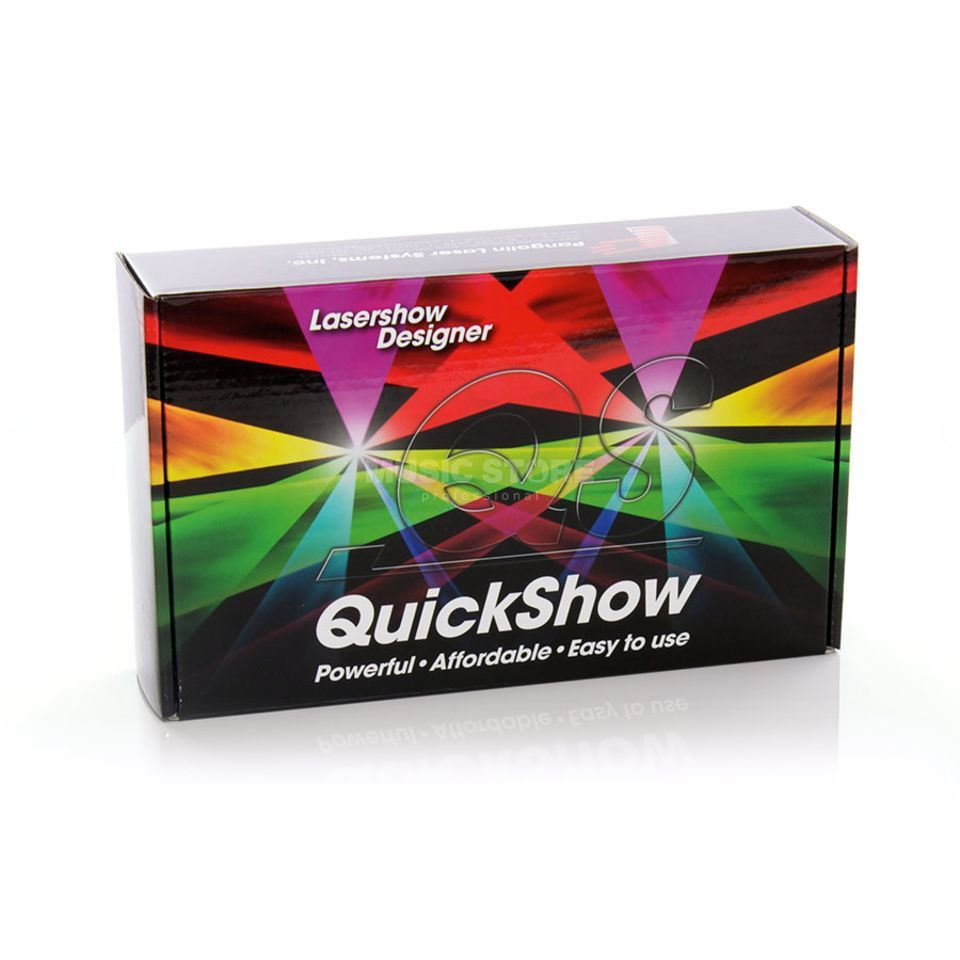 Pangolin QuickShow 2.8 FB3/QS Lasersoftware & USB Interface Produktbild