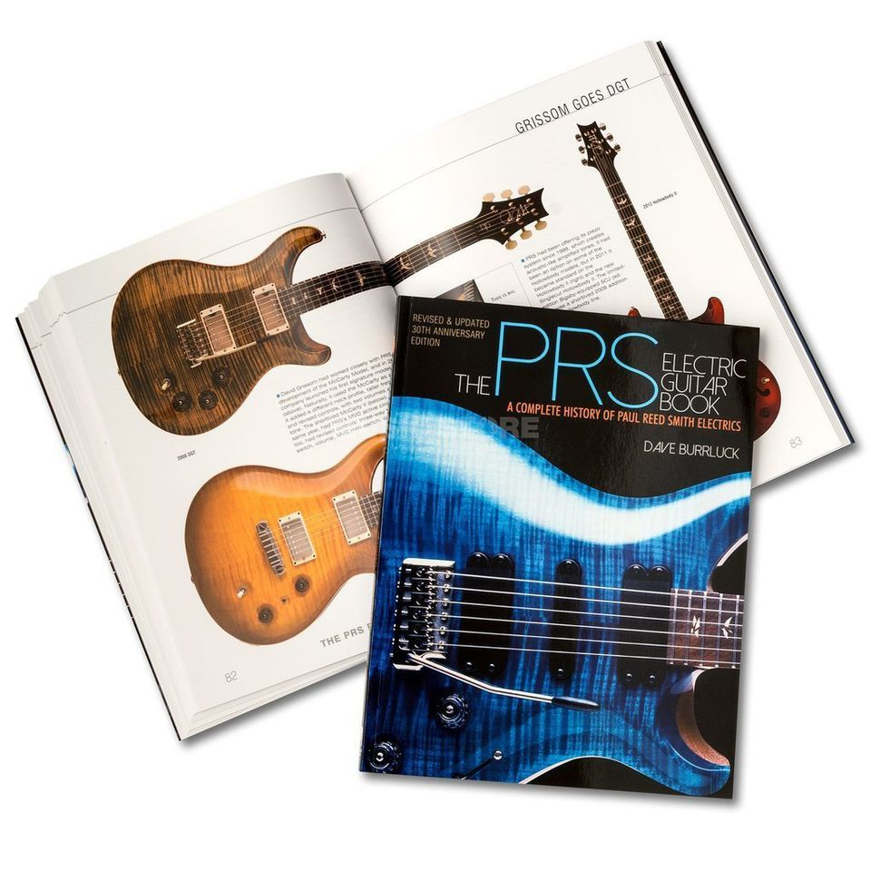 Paul Reed Smith The PRS Guitar Book  Produktbillede