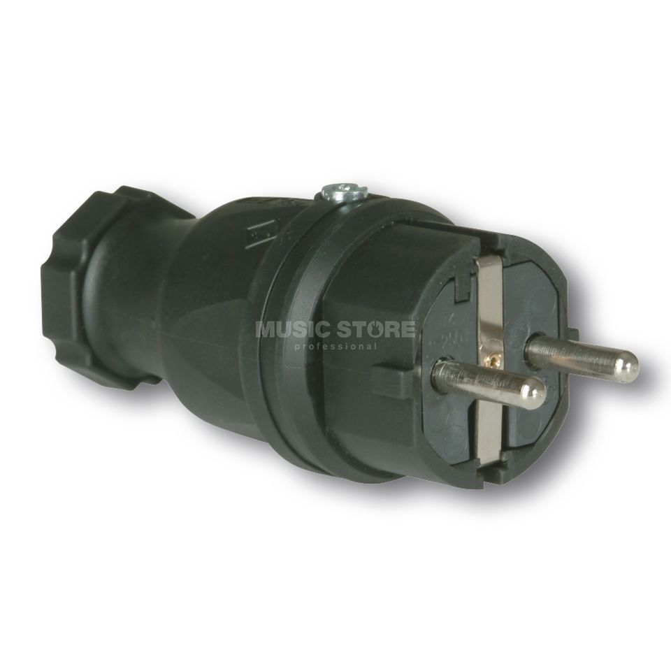 PCE Safety Plug rubber male 220V Produktbillede