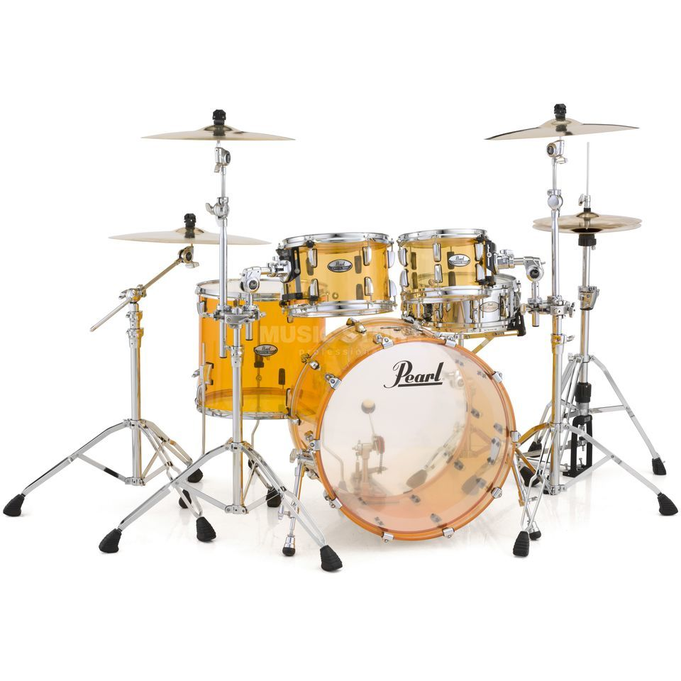 Pearl Crystal Beat CRB504P/C, Tangerine Glass #732 Produktbild