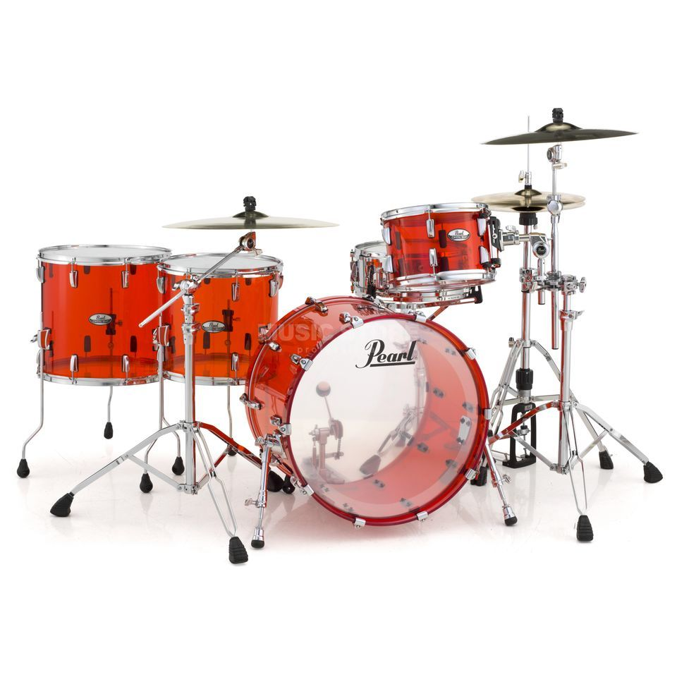 Pearl Crystal Beat CRB524FP/C, Ruby Red #731 Produktbild