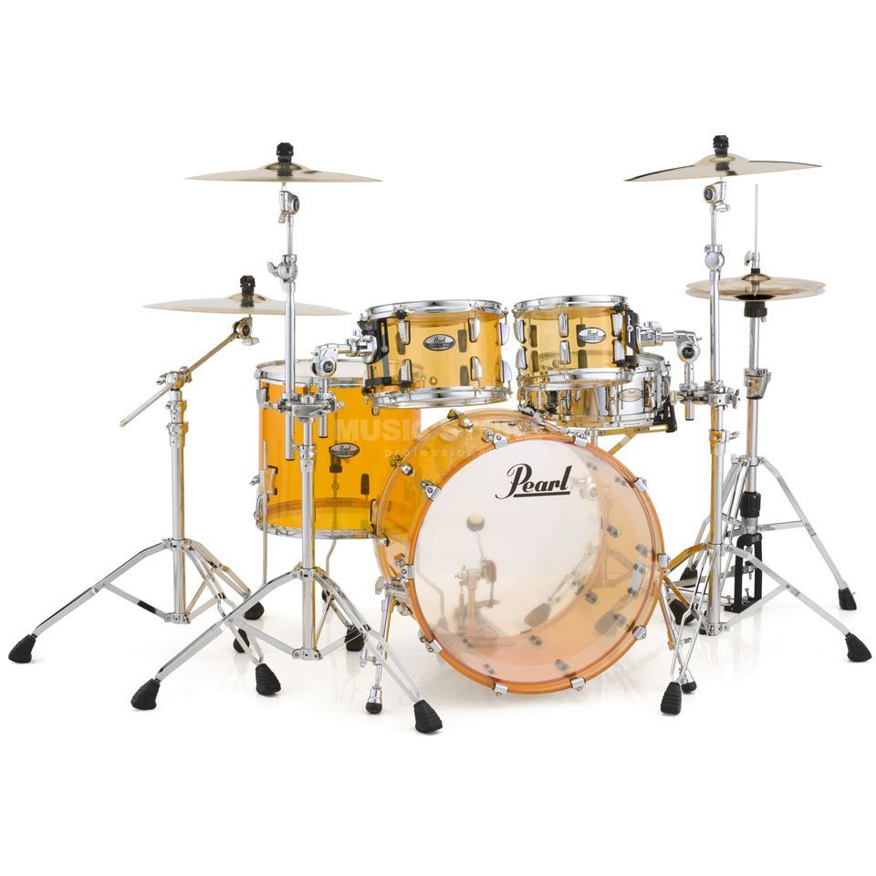 Pearl Crystal Beat CRB524P/C, Tangerine Glass #732 Produktbild