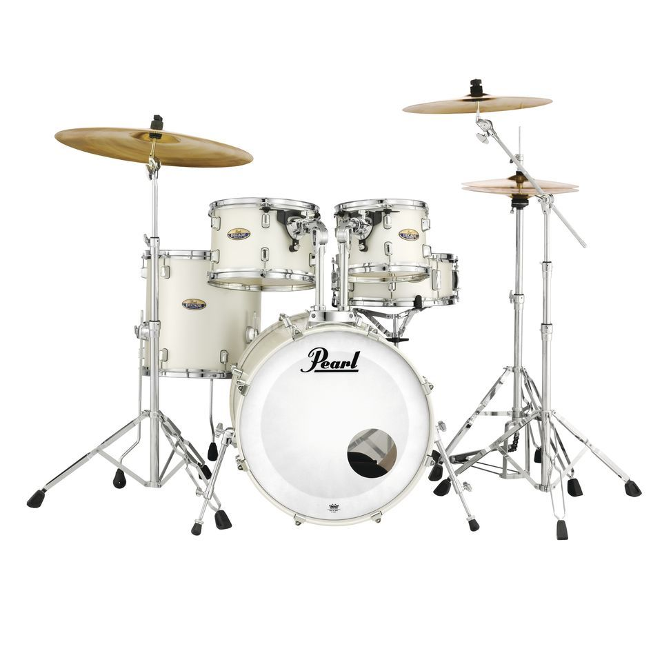Pearl Decade Maple DMP925F/C, White Satin Pearl #229 Product Image