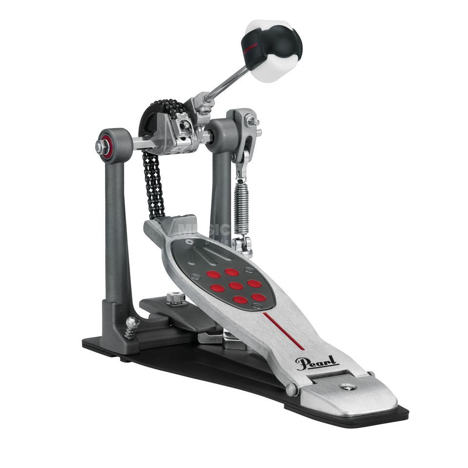 Pearl Einzelpedal Eliminator P-2050C Redline, Chain Drive Product Image