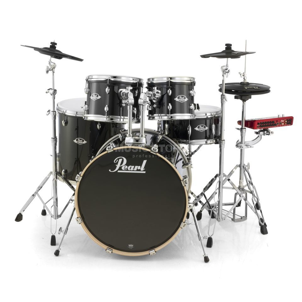 Pearl ePro Live E-DrumSet EPEXL725S/C, Black Smoke Produktbillede