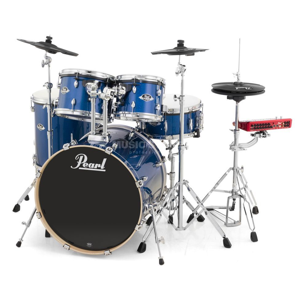 Pearl ePro Live E-DrumSet EPEXX725/C, Electric Blue Sp. Produktbild