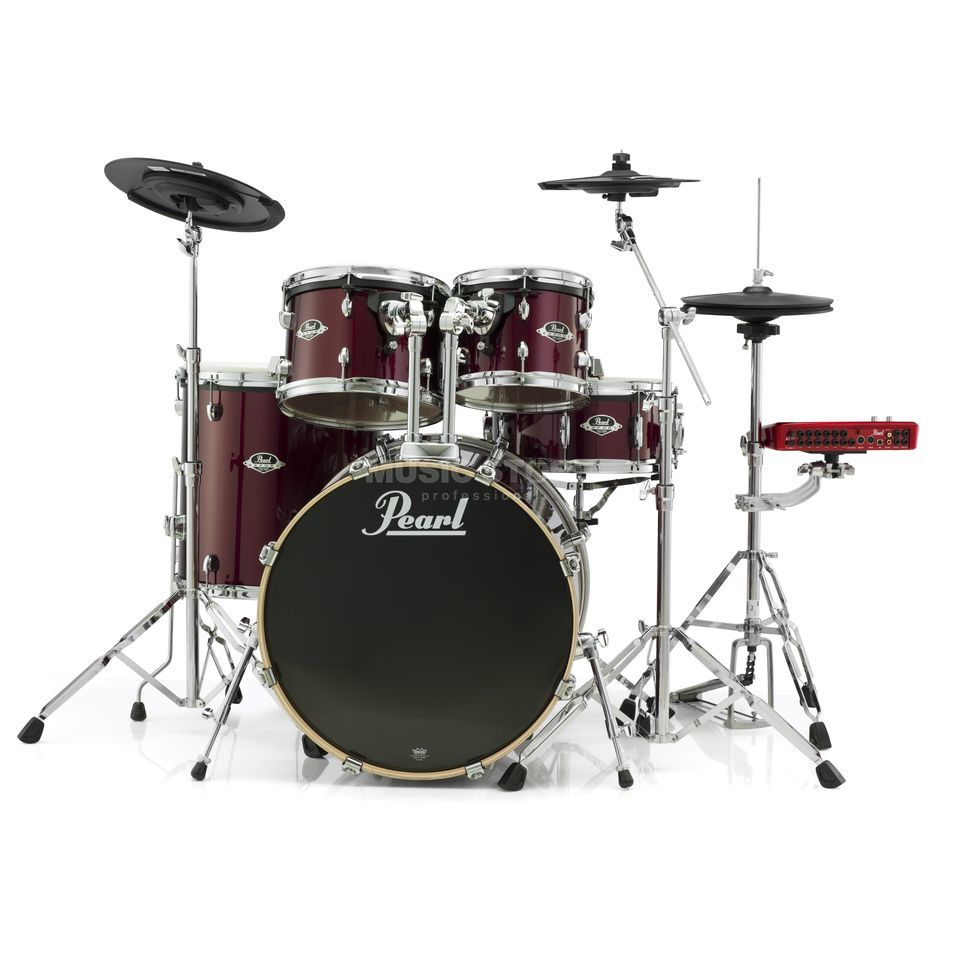 Pearl ePro Live E-DrumSet EPEXX725/C, Red Wine Produktbild