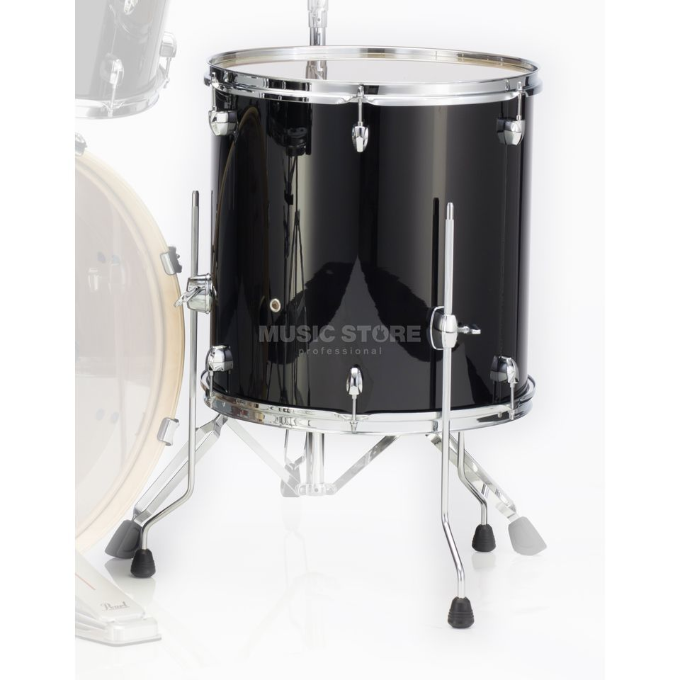 "Pearl Export EXL FloorTom 14""x14"", Black Smoke #248 Product Image"