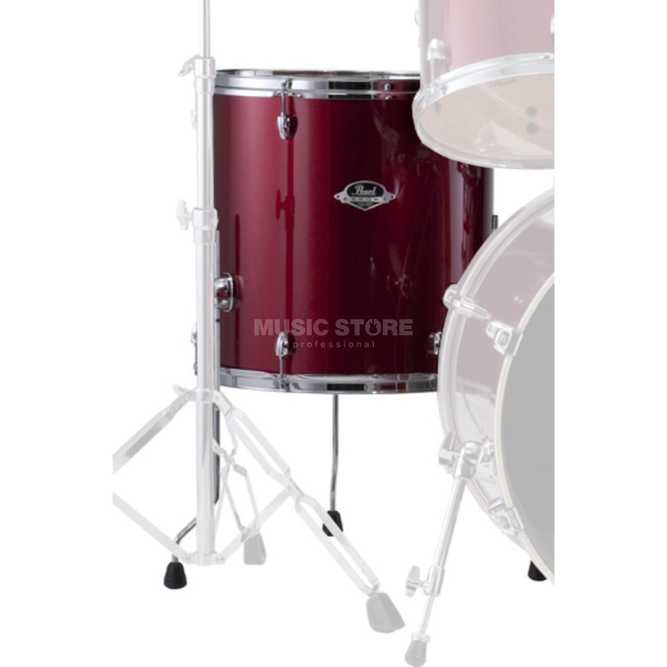 "Pearl Export EXX FloorTom 14""x14"", Red Wine #91 Produktbillede"