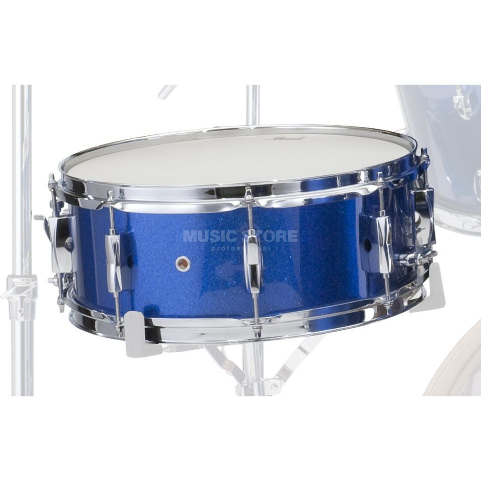 "Pearl Export EXX Snare 14""x5.5"", Electric Blue Sparkle #702 Produktbillede"
