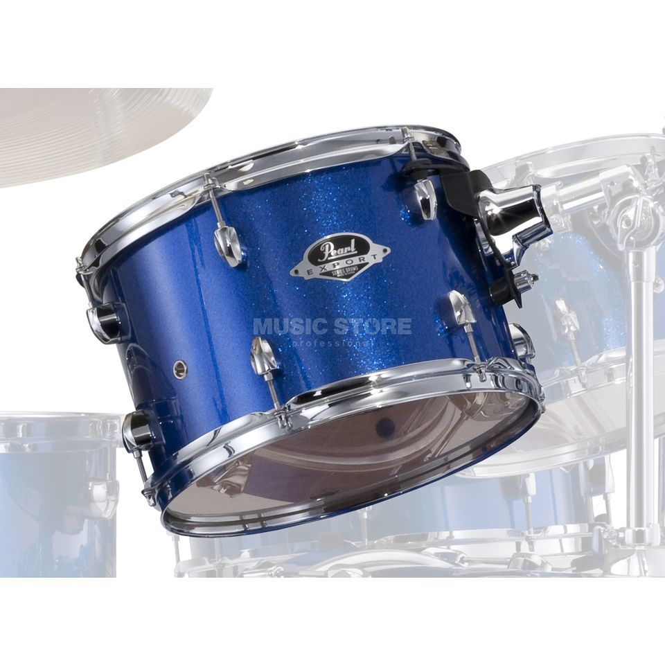 "Pearl Export EXX Tom 12""x8"", Electric Blue Sparkle #702 Produktbillede"