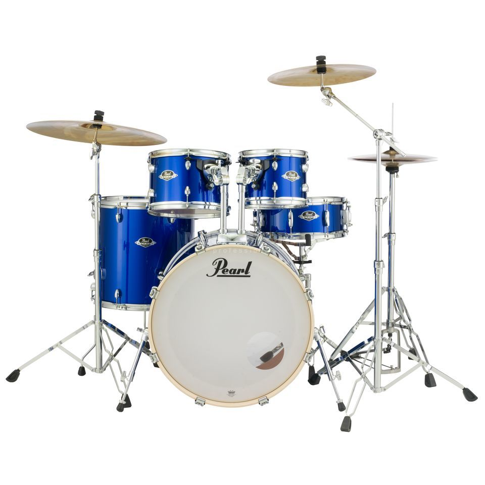 High Voltage Drummer : Pearl export exx sbr c high voltage blue