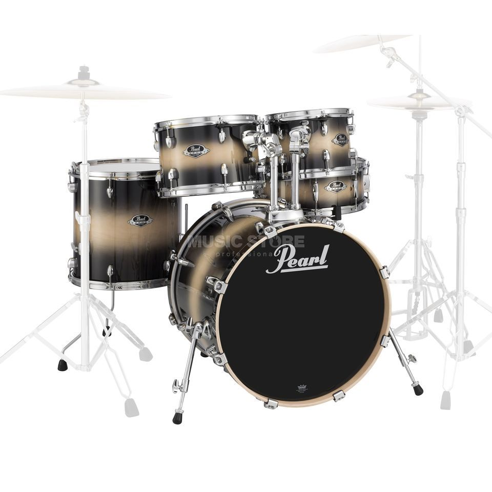 Pearl Export ShellSet EXL725FP/C, Nightshade Lacquer #255 Produktbillede