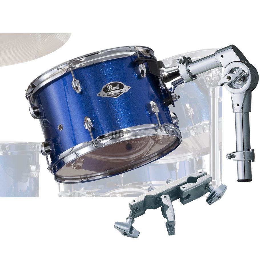 "Pearl Export Tom Add-On Pack 8""x7"", Electric Blue Sparkle #702 Produktbillede"