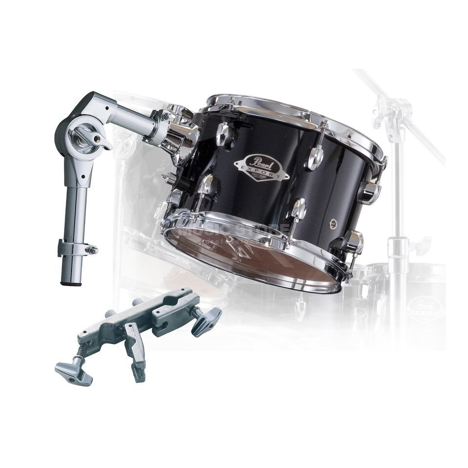 "Pearl Export Tom Add-On Pack 8""x7"", Jet Black #31 Produktbild"