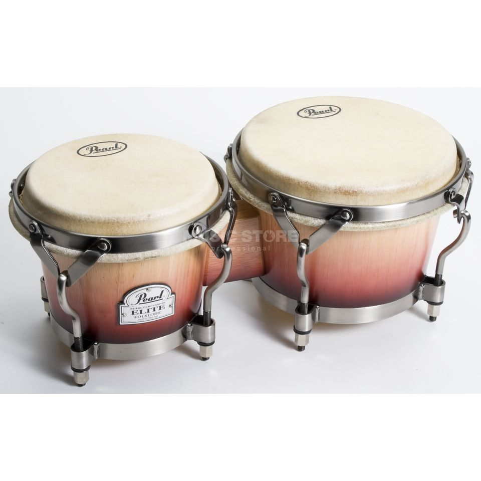 "Pearl Folkloric Bongos PBW-300FC, 7"" & 8 1/2 Productafbeelding"