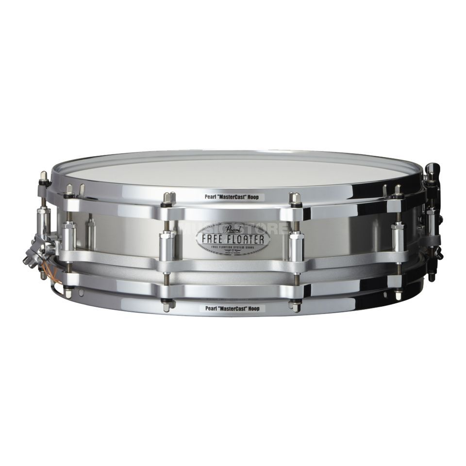 "Pearl Free Floating Snare 14""x3,5"", FTSS-1435, St. Steel Produktbild"