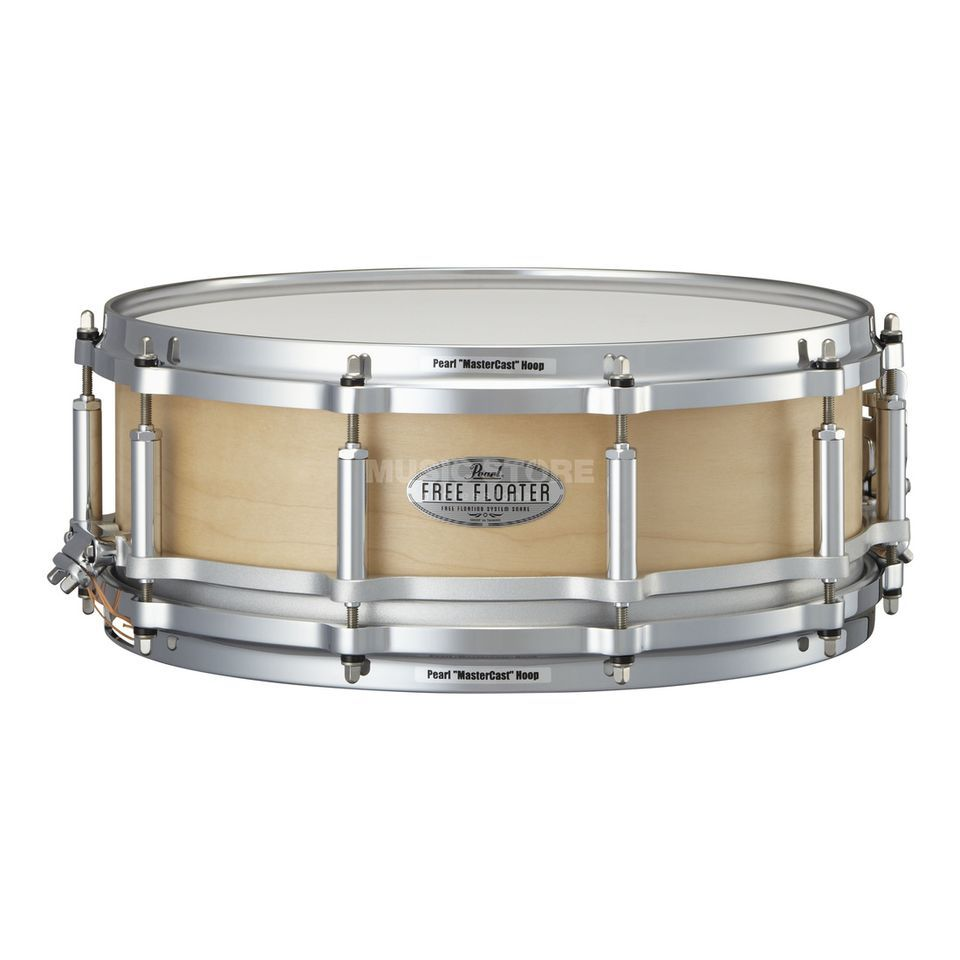 "Pearl Free Floating Snare 14""x5"", FTMM-1450, Maple Produktbild"