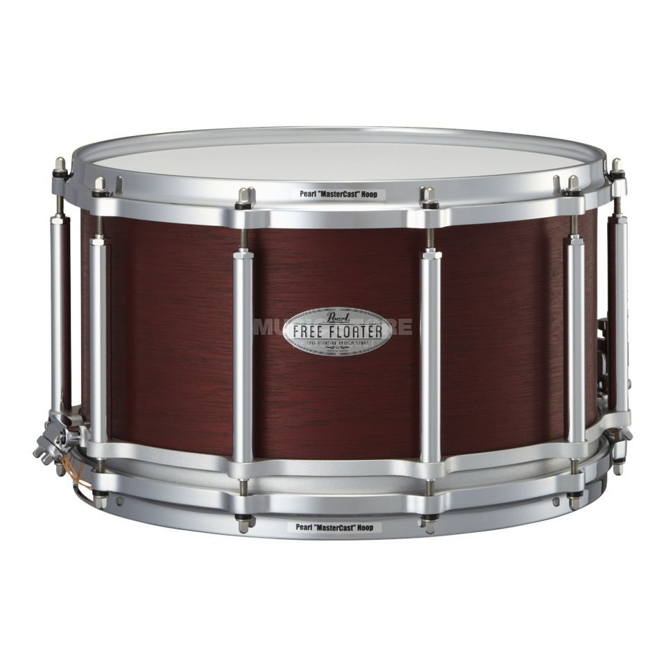 "Pearl Free Floating Snare 14""x8"", FTMH-1480, Mahogany Produktbillede"
