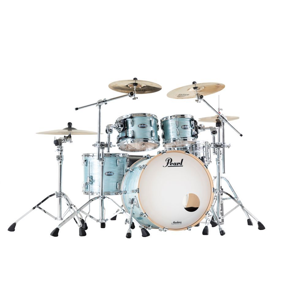 Pearl Masters Maple Complete MCT924XEP/C Ice Blue Oyster Product Image