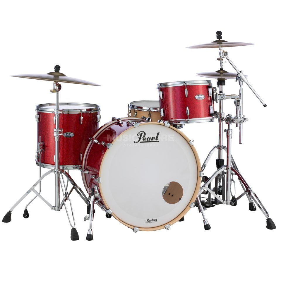 Pearl Masters Maple Complete MCT943XEP/C Inferno Red Sp. Product Image
