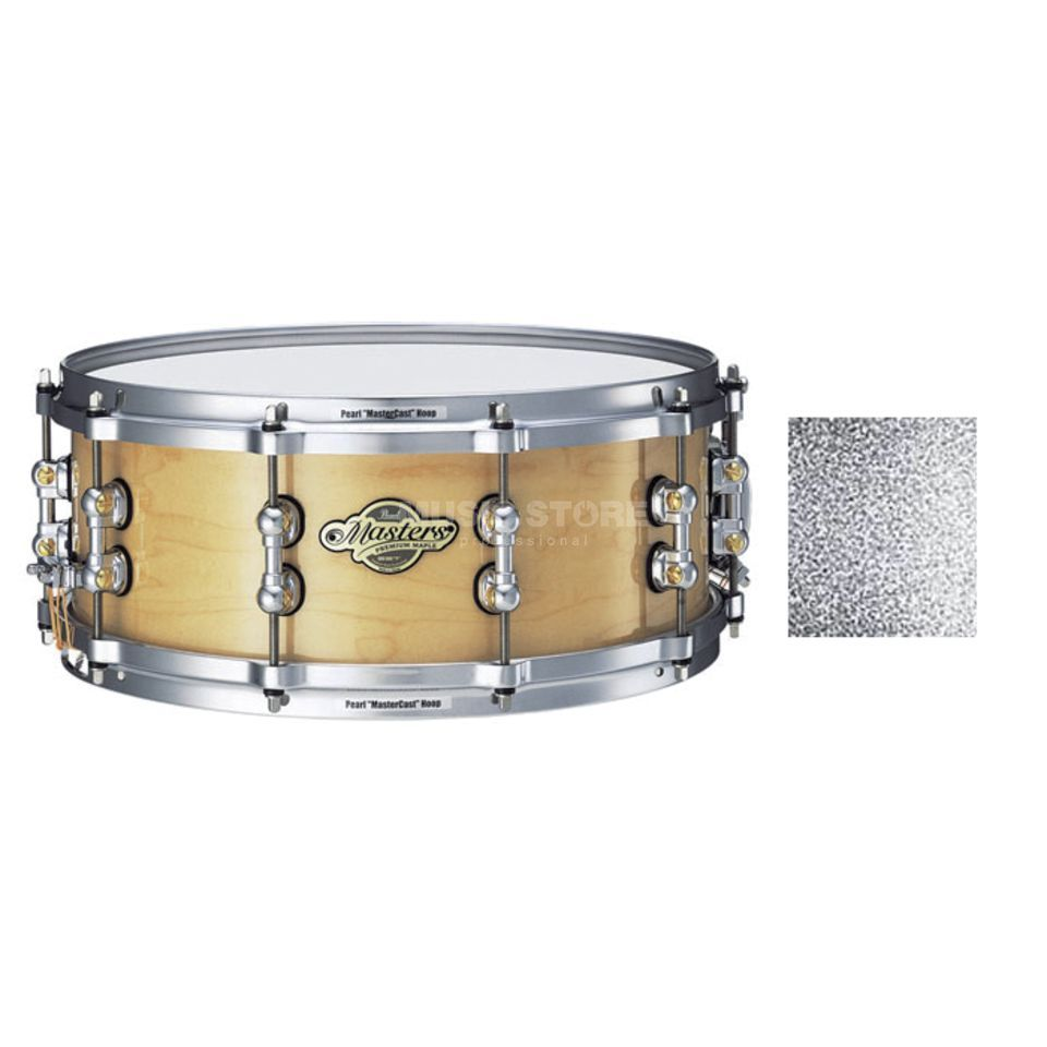 "Pearl MMP1455S/C MMP Snare 14""x5,5"" Silver Sparkle #160 Produktbild"