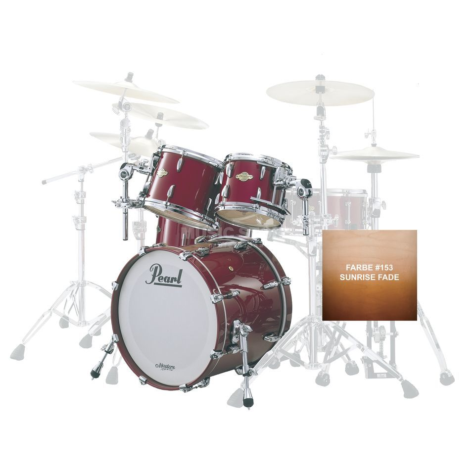 Pearl MMP924XP/C MMP ShellSet, Sunrise Fade #154 Product Image