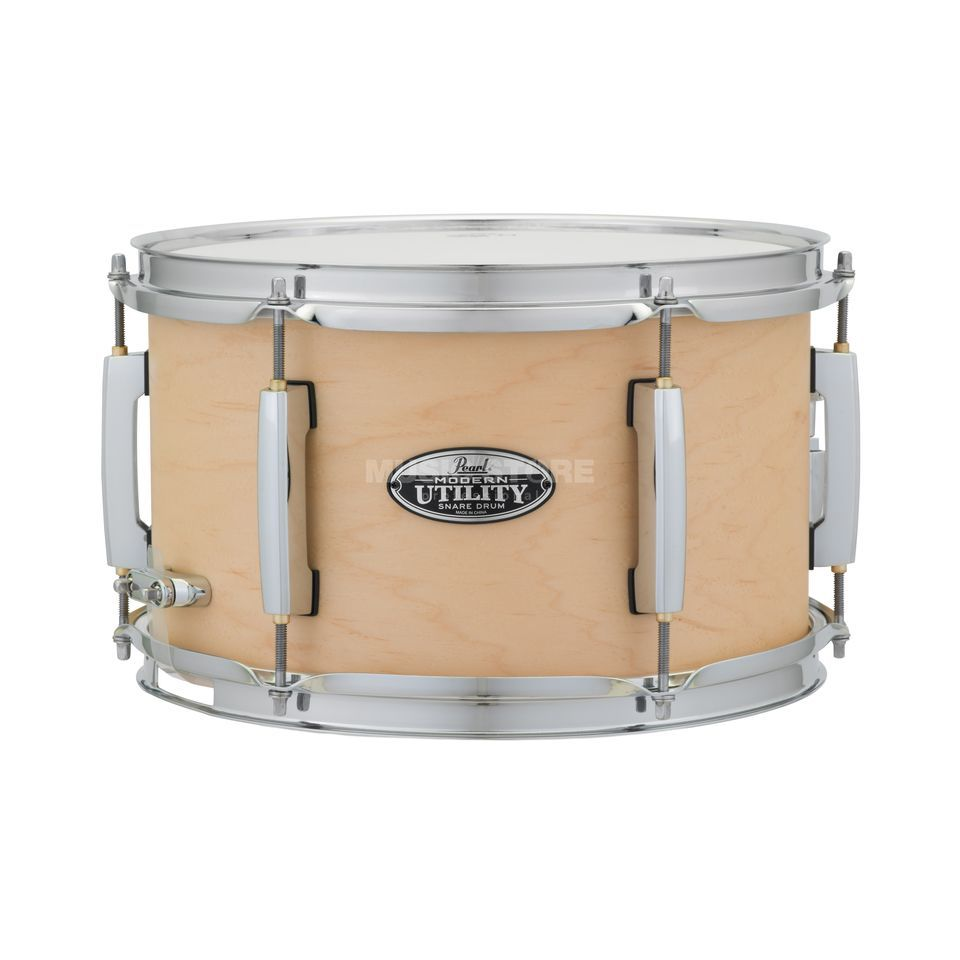 "Pearl Modern Utility Snare 12""x7"" Matte Natural Product Image"