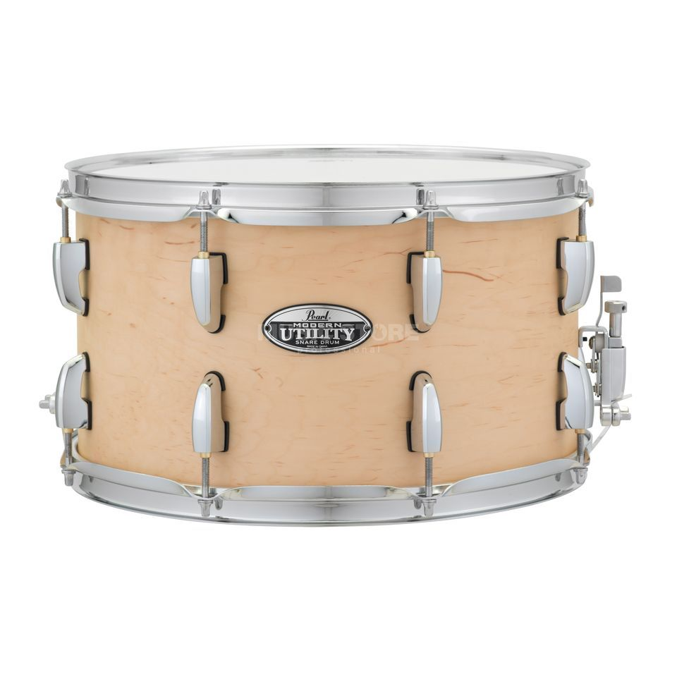 "Pearl Modern Utility Snare 14""x8"" Matte Natural Product Image"