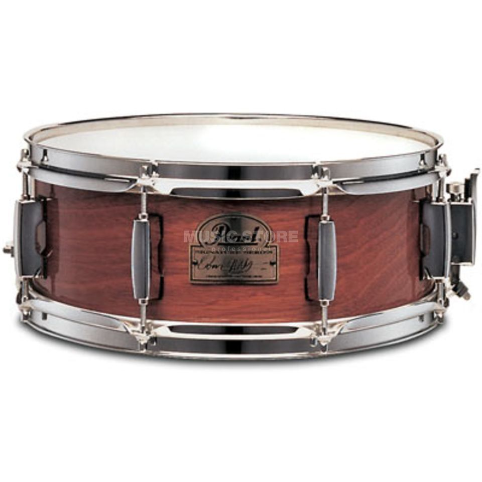 "Pearl OH1350 Omar Hakim Snare 13""x5"", Mahogany Produktbillede"