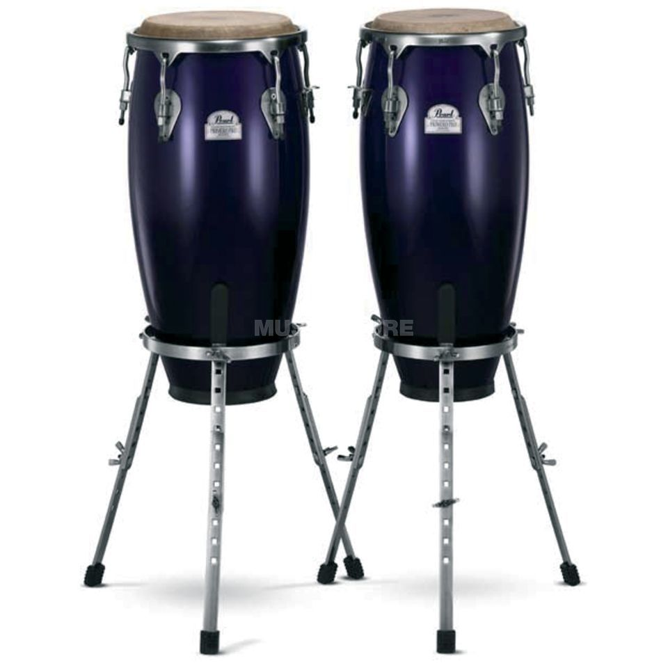 "Pearl Primero Pro CongaSet PWC-302DX 11 3/4""&12 1/2"", Midnight Fade Produktbillede"