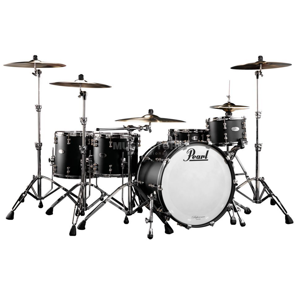 Pearl Reference Pure RFP-924XEP/C, Matte Black #124 Produktbild