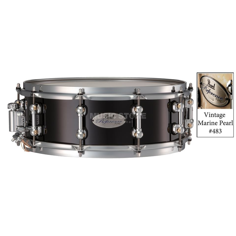 "Pearl Reference Pure Snare, 14""x5"" Vintage Marine Pearl #484 Produktbillede"