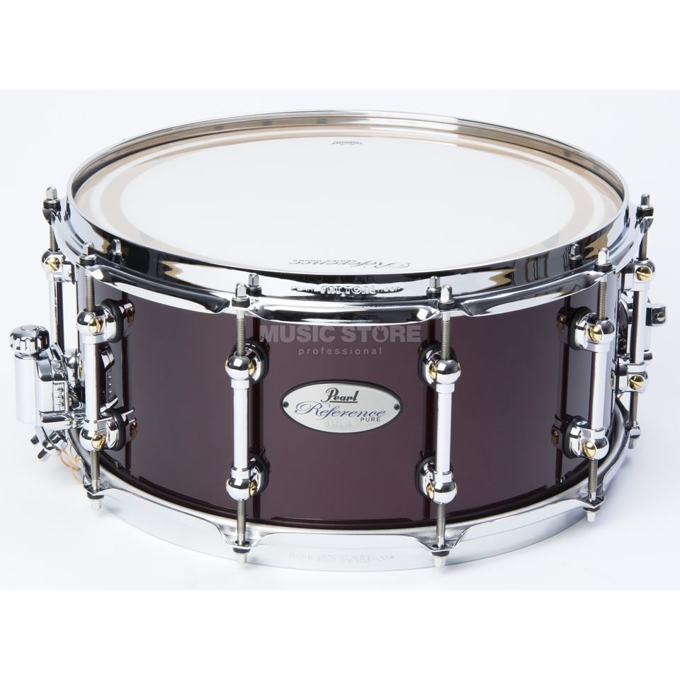 "Pearl Reference Pure Snare 14""x6.5"", Black Cherry #336 Product Image"