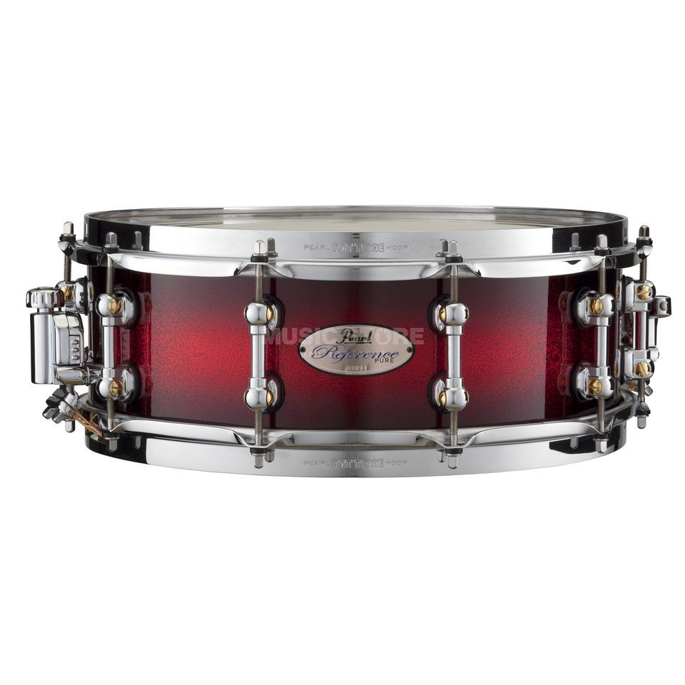 "Pearl Reference Pure Snare RFP1450S, 14""x5"", Scarlet Sparkle Burst Produktbild"