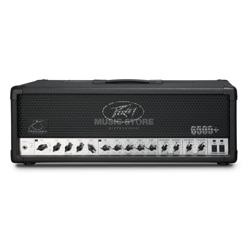 Peavey 6505 Plus Head All Tube Guitar  Amp Head   Produktbillede