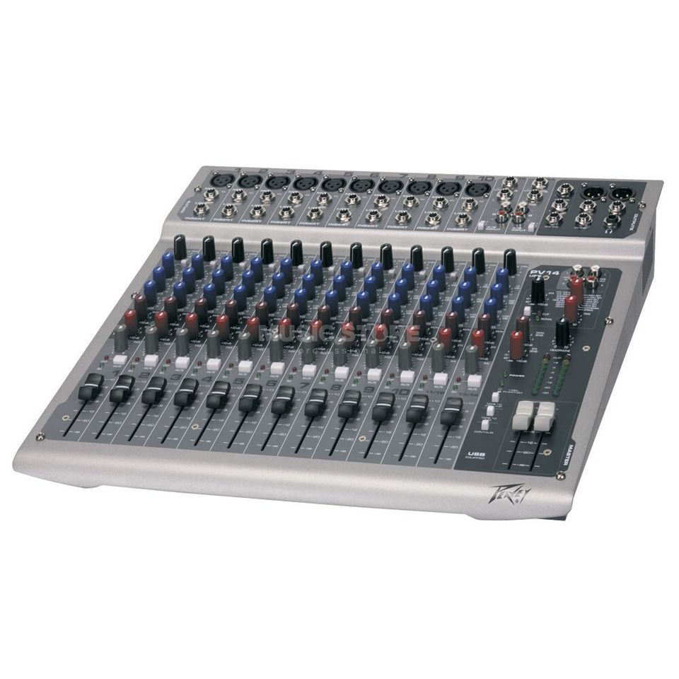 Peavey PV 14 USB 14-Channel Compact Mixer with USB I/O Produktbillede