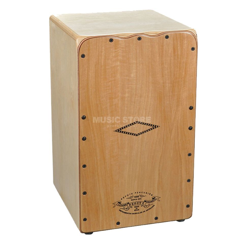 Pepote Percusion Jaleo Cajon, Natural Produktbillede