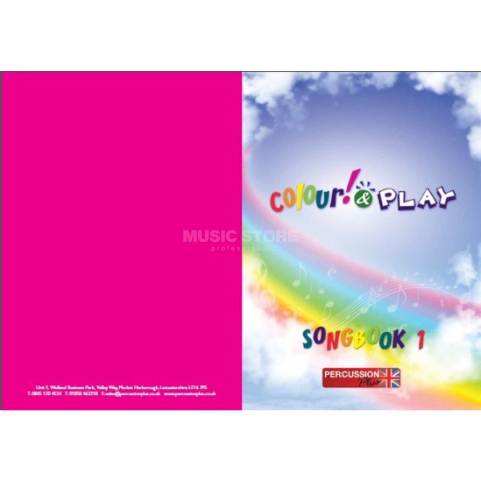 Percussion Plus Colour & Play Song Book, A4 Produktbild