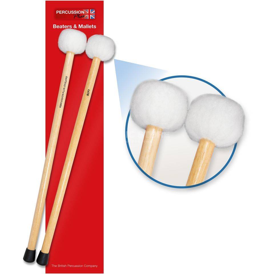 Percussion Plus PP074 Timpani Mallets, Soft Produktbillede