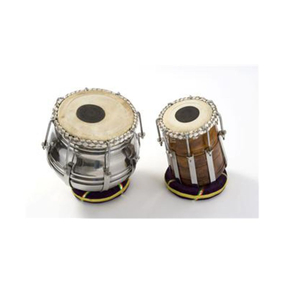 Percussion Plus PP1100 Tabla Pair Rod Tension, inkl. Tasche und Ringhalter Produktbild